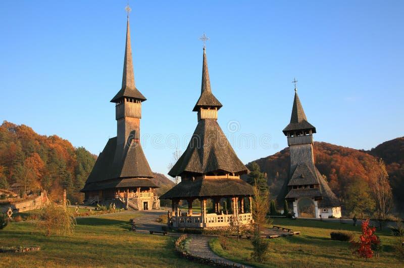 Barsana Monastery royalty free stock photography