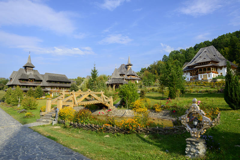 Barsana Monastery royalty free stock photo