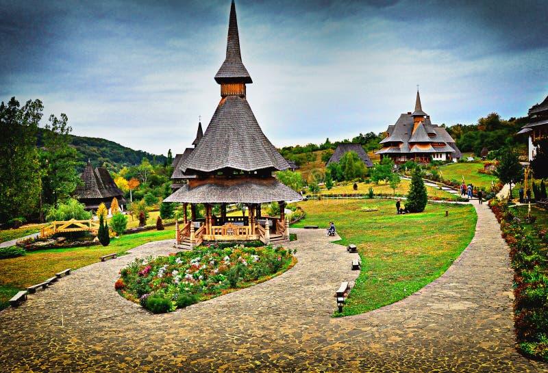 Barsana monastery royalty free stock photos