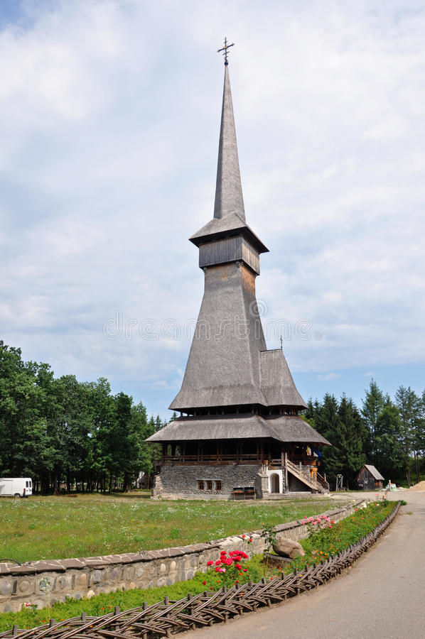 Download Barsana Orthodox Wooden Monastery Complex Stock Image - Image: 27821901