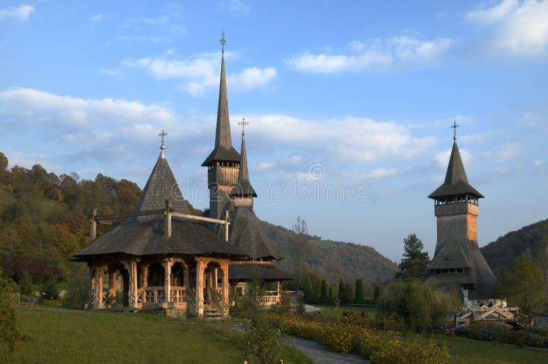 Barsanaklooster - Roemenië royalty-vrije stock foto's