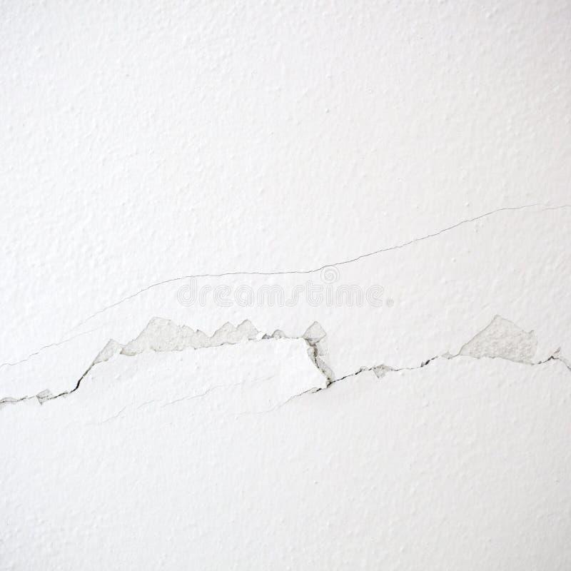 Barst in de muur royalty-vrije stock afbeelding