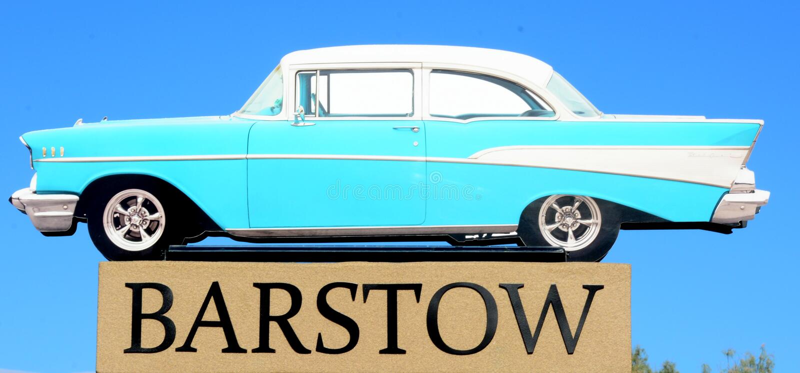 Barstow, San Bernardino, la Californie images stock