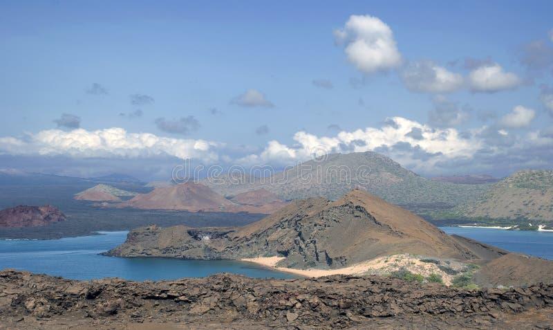 Bartalome, Galápagos fotografia de stock royalty free
