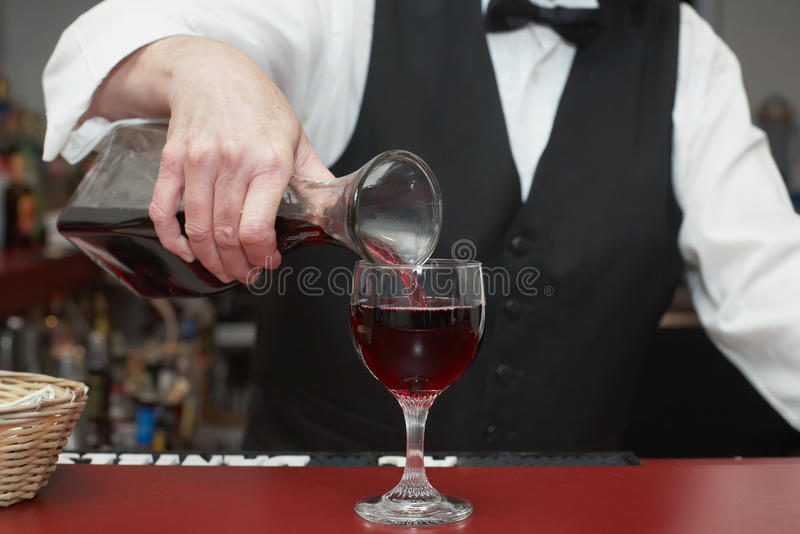 Download Bartender stock photo. Image of bottle, detail, glass - 11807840