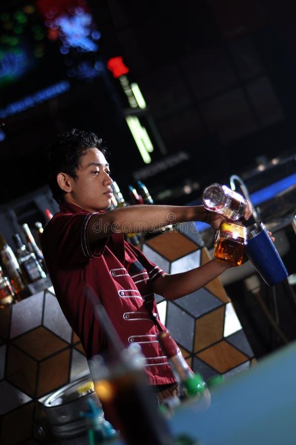Download Bartender making drink stock image. Image of restaurant - 20848557