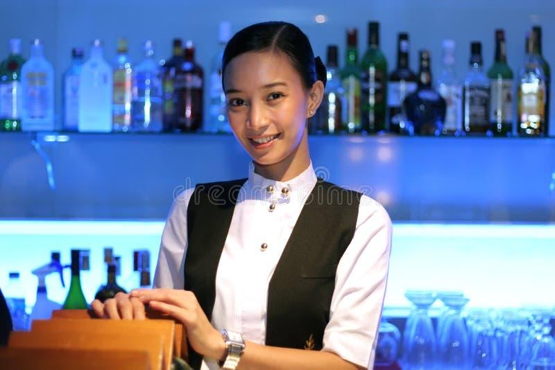 Download Bartender At Work Stock Image - Image: 4804171