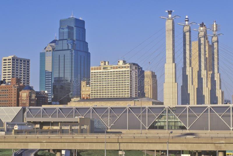 Bartle Hall Convention Center, Kansas City, MES imágenes de archivo libres de regalías