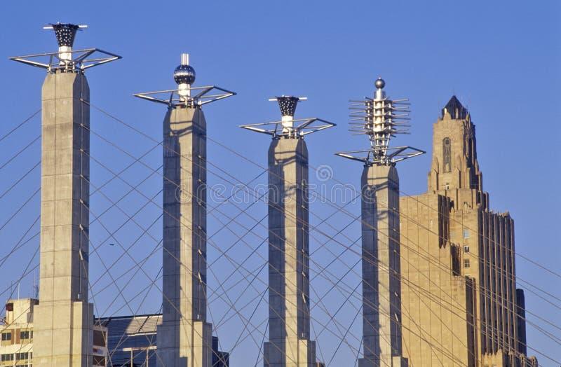 Bartle Hall Convention Center, Kansas City, MES fotos de archivo