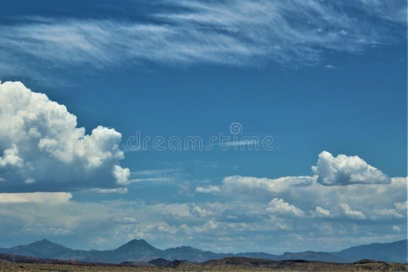 Bartlett δεξαμενή λιμνών, κομητεία Maricopa, κράτος φυσική άποψη τοπίων της Αριζόνα, Ηνωμένες Πολιτείες στοκ φωτογραφία