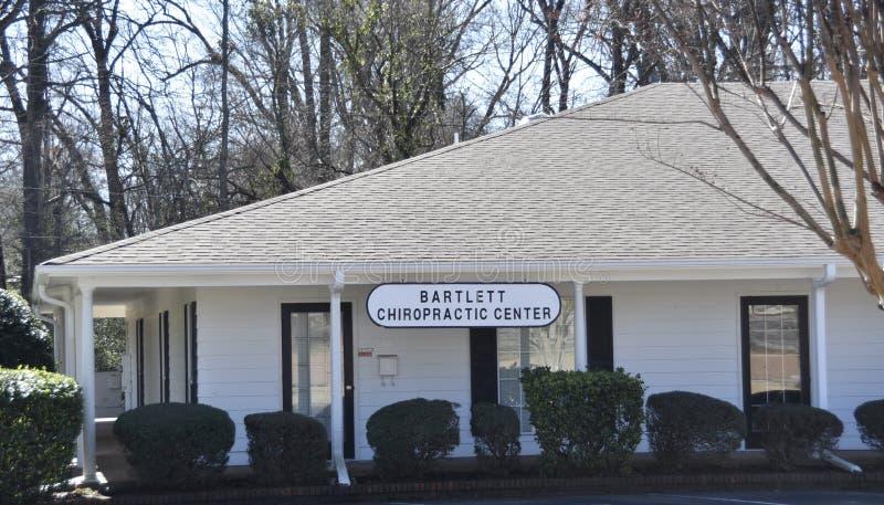 Bartlett Chiropractic Center fotografia stock