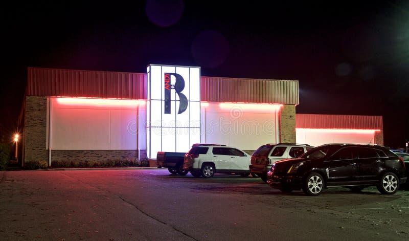 Bartlett Lanes Bowling Center, Bartlett, TN immagine stock libera da diritti