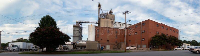 Bartlett Milling Company-Futtermühle lizenzfreie stockfotografie