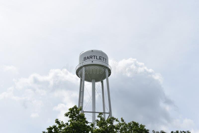 Bartlett, tour d'eau de TN photos libres de droits