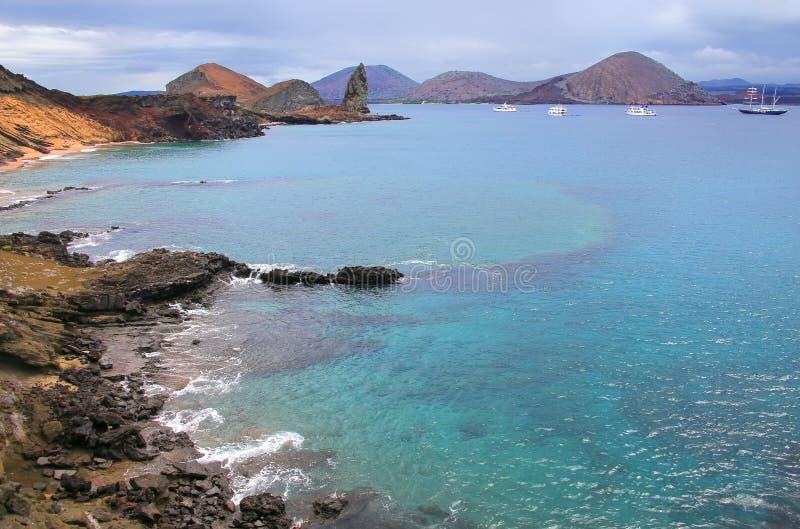 Bartolome海岛,加拉帕戈斯海岸线国家公园,厄瓜多尔 库存照片