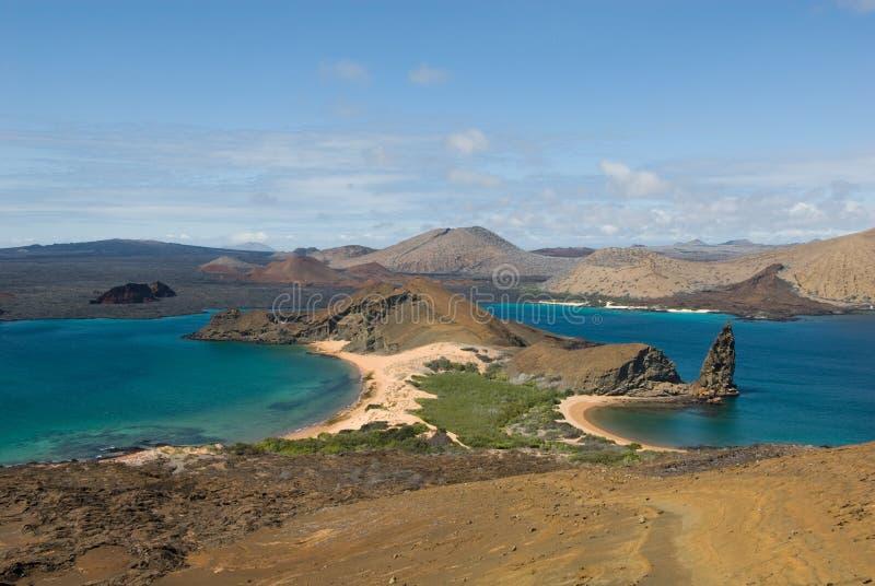 Bartolome海岛,加拉帕戈斯 图库摄影