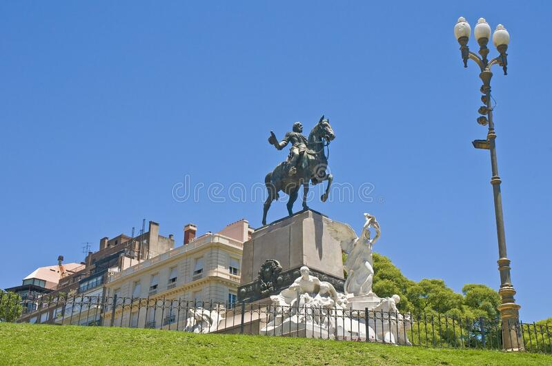 Buenos Aires, Argentina. Bartolome Mitre`s Park in Buenos Aires royalty free stock photos