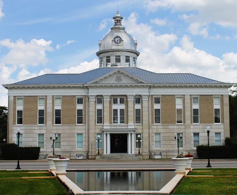 bartow法院大楼佛罗里达历史老 免版税库存照片