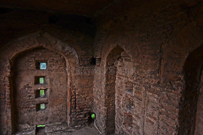 Barua Sagar Fort Wall stock fotografie