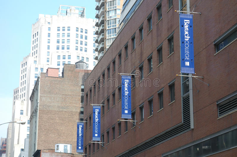 Baruch College stock photography