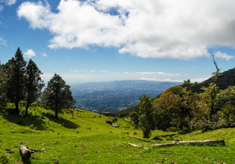 Barva火山国家公园-哥斯达黎加 免版税库存照片