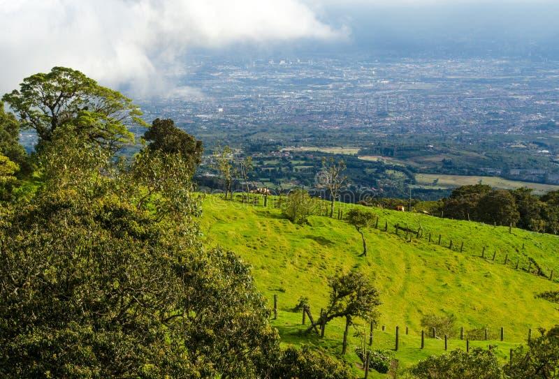 Barva wulkanu park narodowy - Costa Rica obraz stock