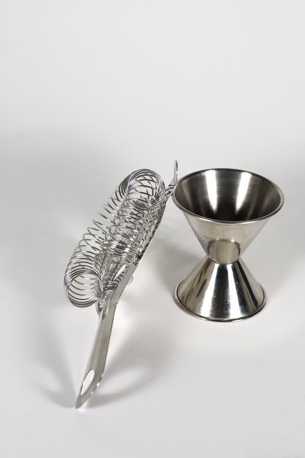 Barware - Gabarit Et Tamis Image libre de droits