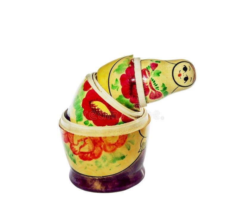Barwiący lali matreshka zdjęcia stock