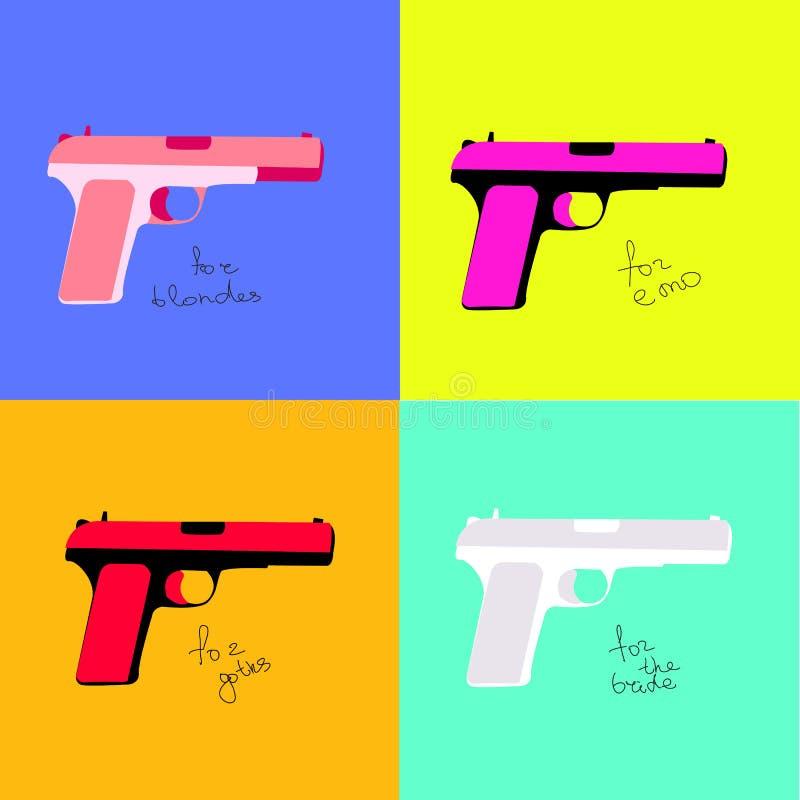 Barwić krócicy dla różnych kategorii ludzie ilustracja wektor