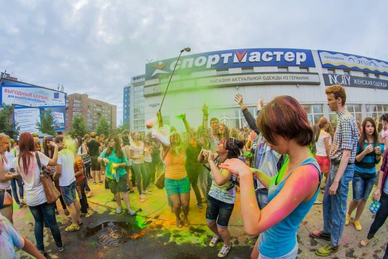 Download Barwi festiwal zdjęcie editorial. Obraz złożonej z ludzie - 57665266