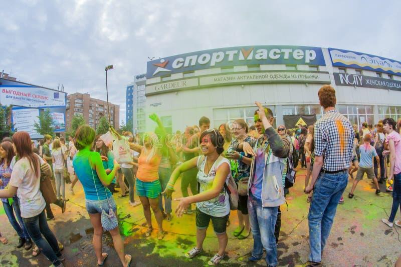 Download Barwi festiwal obraz stock editorial. Obraz złożonej z proszek - 57665269