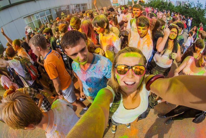 Download Barwi festiwal zdjęcie editorial. Obraz złożonej z atleta - 57665361