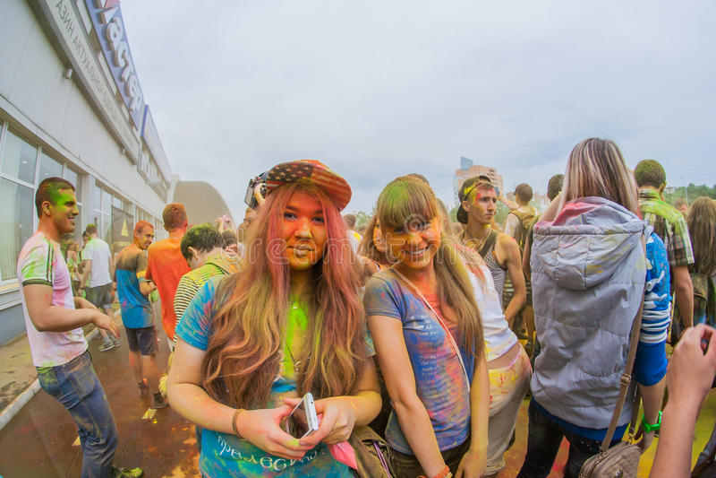 Download Barwi festiwal obraz stock editorial. Obraz złożonej z fitness - 57665459