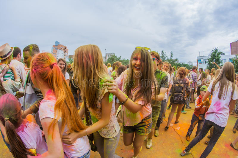 Download Barwi festiwal obraz editorial. Obraz złożonej z etnocentryzm - 57665510