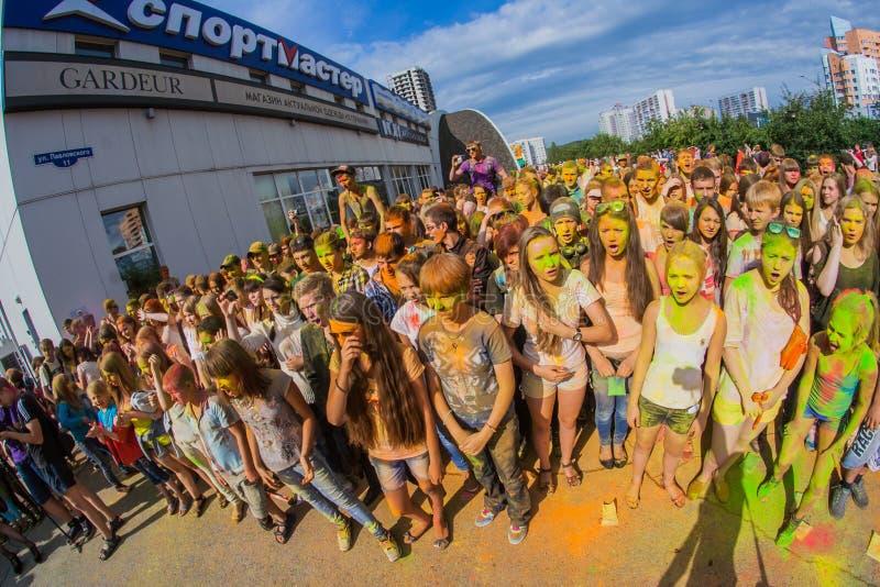 Download Barwi festiwal obraz editorial. Obraz złożonej z szczęśliwy - 57665570