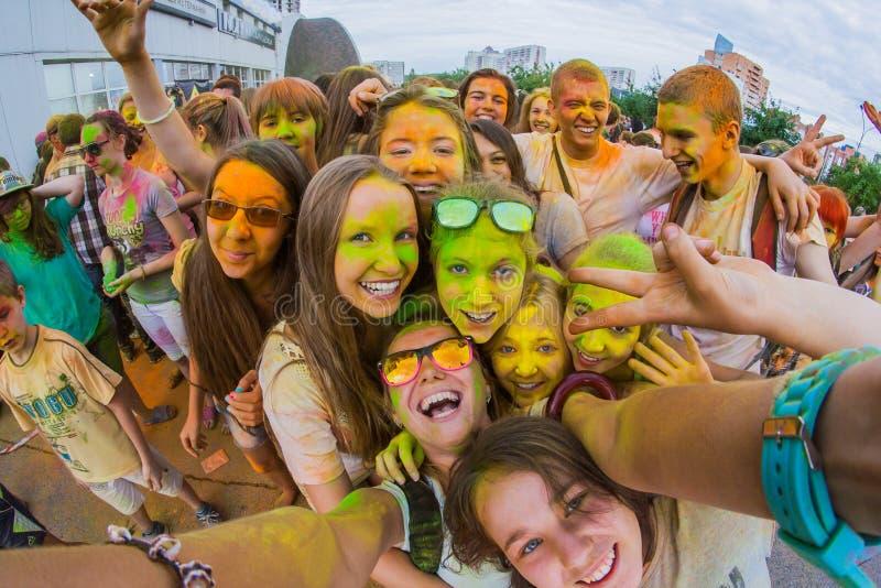 Download Barwi festiwal obraz editorial. Obraz złożonej z joyce - 57665795
