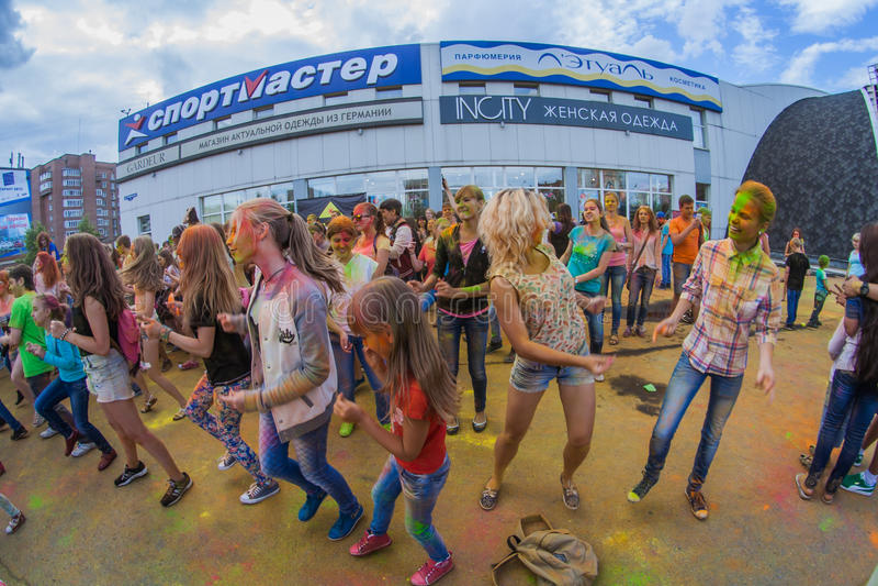Download Barwi festiwal zdjęcie editorial. Obraz złożonej z eventide - 57665816