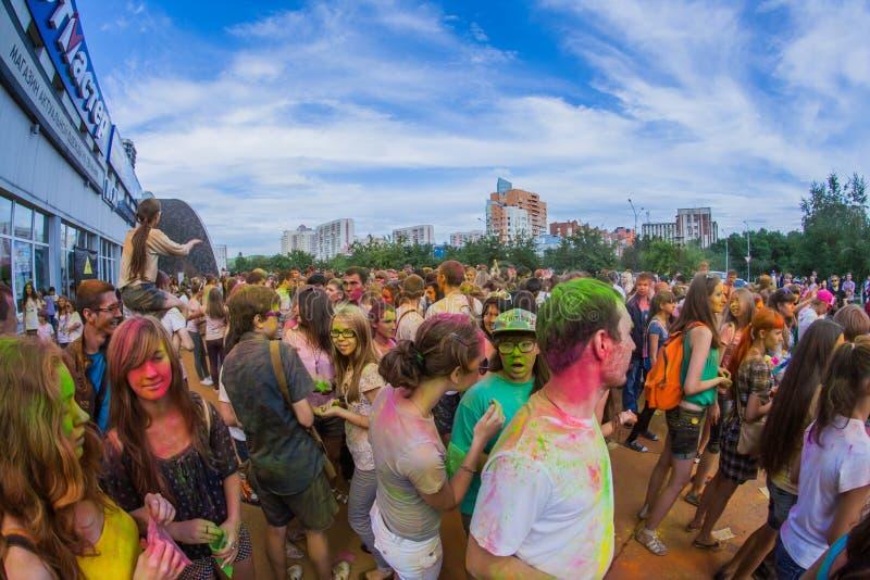 Download Barwi festiwal obraz editorial. Obraz złożonej z farba - 57665910