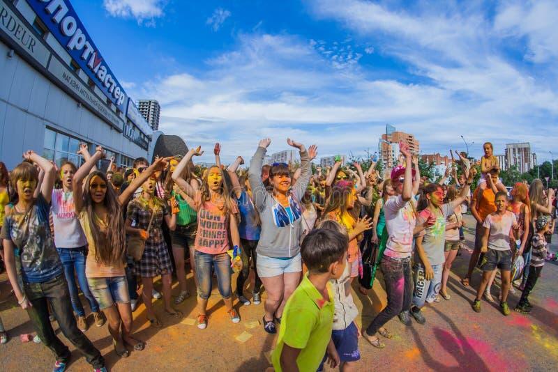 Download Barwi festiwal fotografia editorial. Obraz złożonej z asia - 57665922