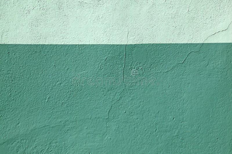 Barwiona ściana barwiący zielony farba wzoru tło obrazy stock