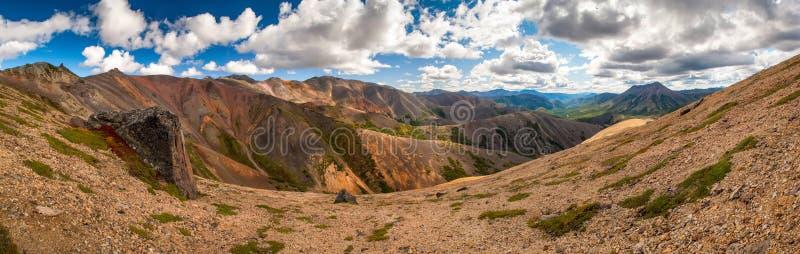 Barwiona góra obrazy stock