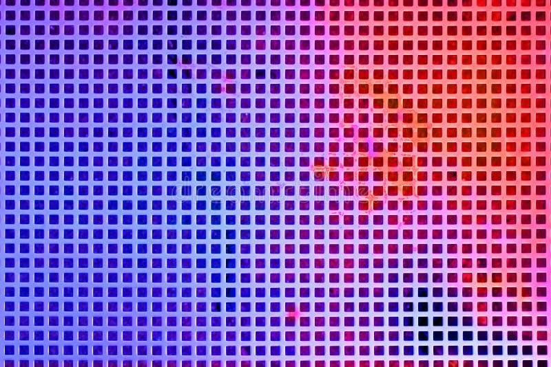 Barwiona metal siatka jako abstrakcjonistyczny przemysłowy tło zdjęcia royalty free