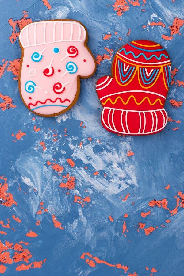 Barwiona słodkość na barwionym tle zdjęcie stock