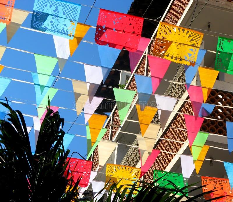 barwione flaga zdjęcia stock