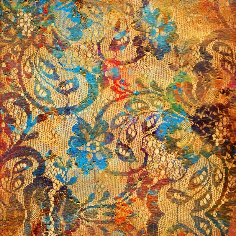 Barwioni koronkowi wzory ilustracji