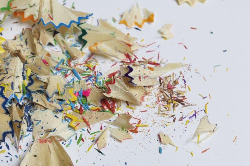barwioni ołówkowi golenia zdjęcie stock