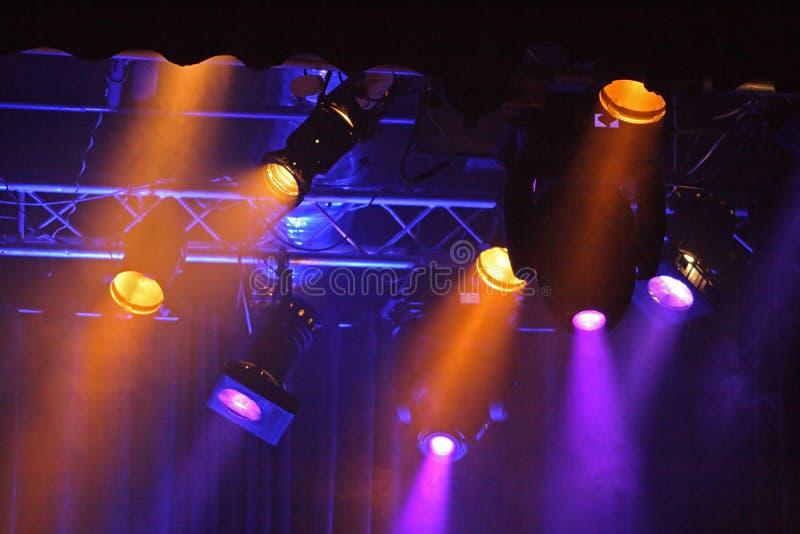 barwioni projektory zdjęcie royalty free