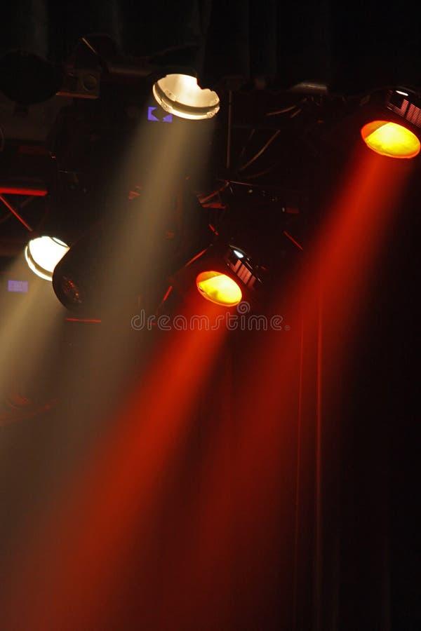 barwioni projektory fotografia stock