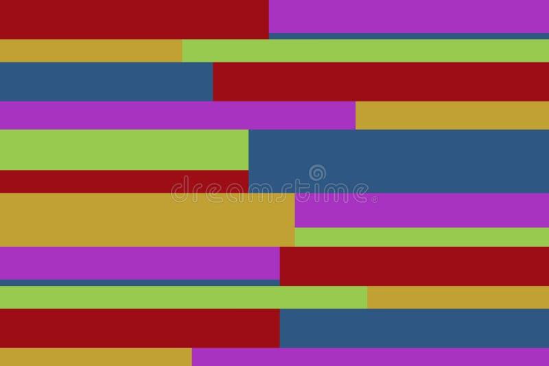 Barwiony linii tło royalty ilustracja