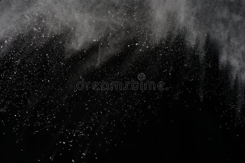 Barwiony prochowy wybuch Colore pył splatted zdjęcie stock